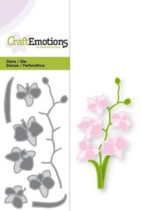 CraftEmotions - Die - Orkidée - CraftEmotions - Die - Orkidée