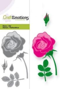 CraftEmotions - Die - Ros - CraftEmotions - Die - Ros