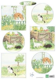 Marianne Design Klippark - Tinýs Cats - Marianne Design Klippark - Tinýs Cats