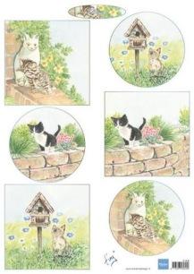Marianne Design Klippark - Tinýs Kitten - Marianne Design Klippark - Tinýs Kitten