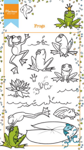 Marianne Design - Clearstamps - Hettýs Frogs - Marianne Design - Clearstamps - Hettýs Frogs