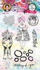 Art by Marlene - Clearstamps - Girlie Style
