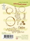 LeCrea - Clearstamps - Coffee beans & stains