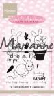 Marianne Design Clearstamp - Elinés Cute Animals - Bunnies