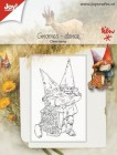 Joy Crafts - Clearstamp - Gnomes - dance