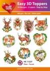 Easy 3D Utstansat - Deer - Forest