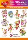 Easy 3D Utstansat - Garden Fairies