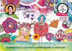 Art by Marlene - Utstansat - Die Cut Block - Art by Marlene - Utstansat - Die Cut Block