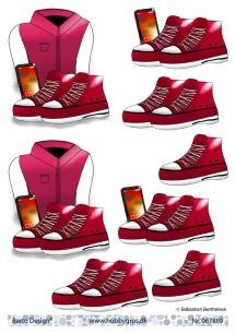 Barto Design - 3D Klippark - Tjejmotiv - Barto Design - 3D Klippark - Tjejmotiv