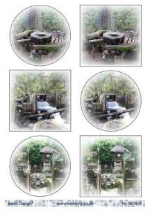 Barto Design Klippark - Skogsmotiv - Barto Design Klippark - Skogsmotiv