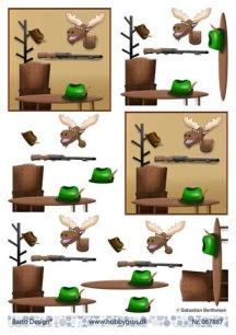 Barto Design - 3D Klippark - Jakt - Barto Design - 3D Klippark - Jakt