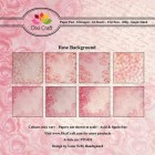 Dixi Craft Pappersblock - Rose Background
