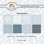 Dixi Craft Pappersblock - Floral Pattern