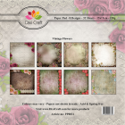 Dixi Craft Pappersblock - Vintage Flowers