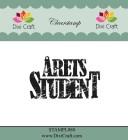 Dixi Craft - Clearstamp - Årets Student