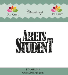 Dixi Craft - Clearstamp - Årets Student - Dixi Craft - Clearstamp - Årets Student
