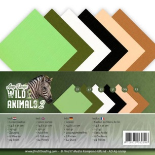 Amy Design - Pappersblock - Wild Animals 2 - Amy Design - Pappersblock - Wild Animals 2