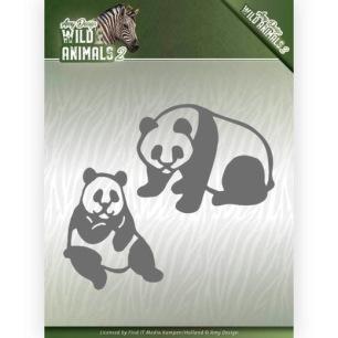 Amy Design - Dies - Wild Animals 2 - Panda Bear - Amy Design - Dies - Wild Animals 2 - Panda Bear