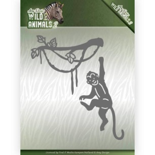 Amy Design - Dies - Wild Animals 2 - Spider Monkey - Amy Design - Dies - Wild Animals 2 - Spider Monkey