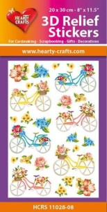 3D Relief Stickers - Bicycles - 3D Relief Stickers - Bicycles