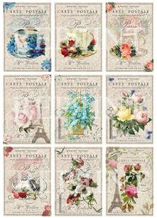 Reprint - Klippark - Miss Margit - Cutouts Tea time - Reprint - Klippark - Miss Margit - Cutouts Tea time