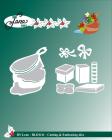 by Lene - Dies - Santa Claus - Gift bag