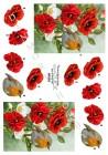 Dan-Quick 3D Klippark - Blommor o rödhake