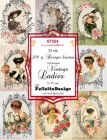 Felicita Design Toppers - Vintage Ladies