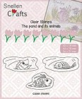 Nellie Snellen - Clearstamps - The pond and its animal - Fish