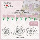 Nellie Snellen - Clearstamps - The pond and its animal - Insects
