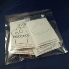 Gummiapan Motivstämplar 10-pack 2