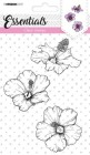 Studiolight - Clearstamp - 3 blommor