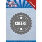 Yvonne Creations Dies - Big Guys - Cheers!