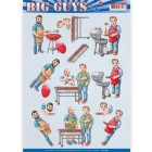 Yvonne Creations 3D Klippark - Big Guys - Backyard BBQ