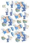 Dan design 3D Klippark - Liten babykille