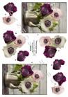 Dan-Quick 3D Klippark - Blommor i kaffekanna