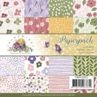 Precious Marieke - Pappersblock - Blooming Summer