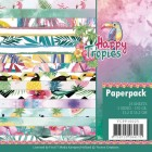 Yvonne Creations Pappersblock - Happy Tropics