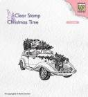 Nellie Snellen - Clearstamps - Christmas tree transport