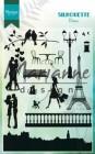 Marianne Design Clearstamp - Silhouette Paris