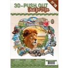 Cardbook - 3D utstansat - Just for men no16