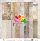 Dubbelsidigt papper - Dixi Craft - Nostalgia