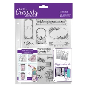 Clearstamps - Docrafts - Musicality - Clearstamps - Docrafts - Musicality