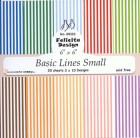 Felicita design - Papper - Basic Lines Small