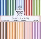 Felicita design - Papper - Basic Lines Big