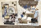 Studiolight Block 3D Utstansat - Winter Trails