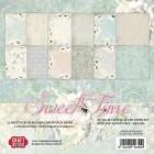 Craft & You - Pappersblock Dubbelsidigt papper - Sweet Time, 30x30 cm