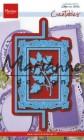 Marianne Design - Dies - Anja´s Vertical Folding die - Rectangle