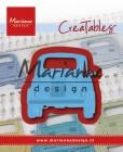 Marianne Design - Dies - CreaTables - Fiat