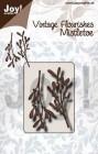 Joy Craft Dies - Vintage flourishes - Mistletoe